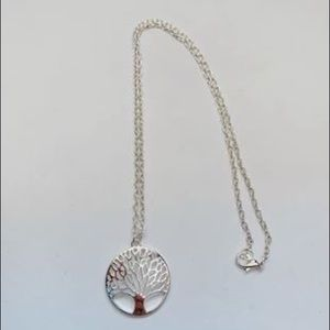 Jewelry - New 925 silver Tree of life necklace